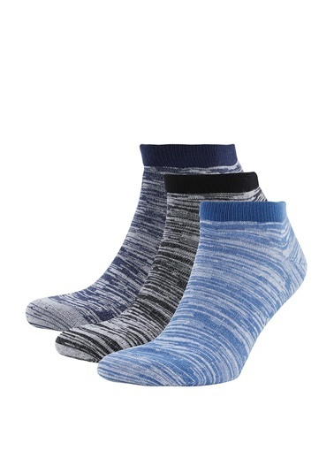 DeFacto 3'lü Kısa Çorap Seti Camel